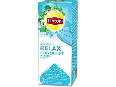 Brev-the, Peppermint, 25 breve æsken, 1 æske, Lipton