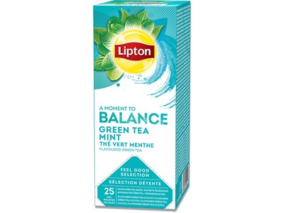 Brev-the, Green Tea Mint, 25 breve æsken, 1 æske, Lipton