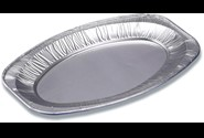 Cateringfad oval light 43x29x2,5cm glat