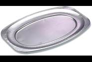 Cateringfad oval light 55x36x2,2cm glat stor 10stk/ps