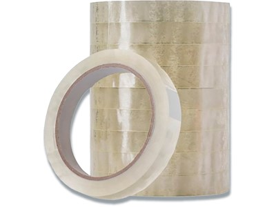 Tape, 15 mmx66 m, 1 rulle, Transparent, Q-Line