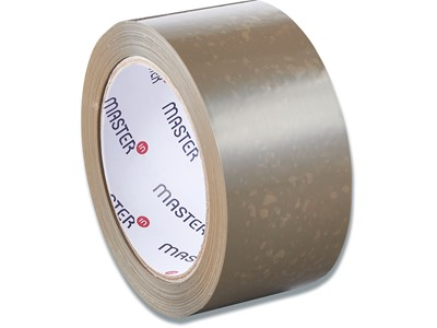 Tape - emballage, 48 mmx66 m, 1 rulle, Brun, Master'In Performance PP28