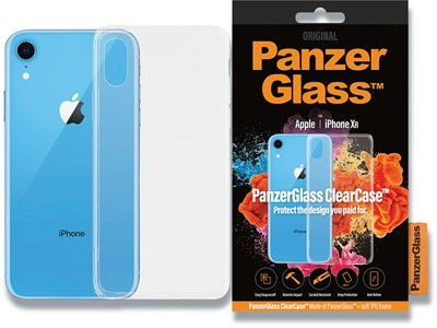 Cover, iPhone XR, Case, Transparant, PanzerGlass