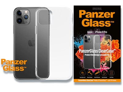 Cover, iPhone 11 Pro, Case, Transparent, PanzerGlass ClearCase