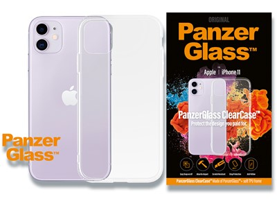 Cover, iPhone 11, Case, Transparent, PanzerGlass ClearCase