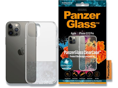 Cover, iPhone 12/iPhone 12 Pro 6.1'', Case, Transparent, PanzerGlass ClearCase