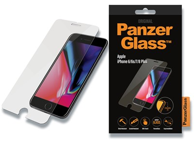 Panserglas, iPhone 6Plus/iPhone 6SPlus/iPhone 7Plus/iPhone 8Pl, Klar, 1 stk, PanzerGlass