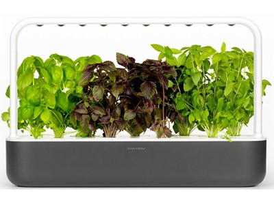 Starter kit til 9 planter, Mørke Grå, Click and Grow Smart Garden
