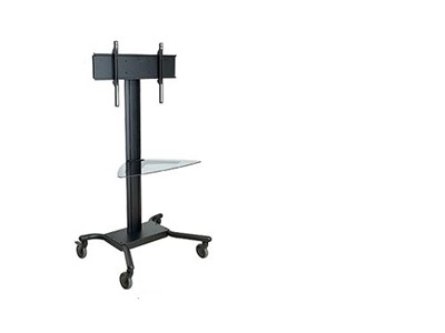 Peerless SR560G Bærbar Sort tv-stander