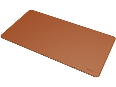 Satechi Eco-Leather Desk, Mat Brown
