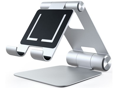 Satechi R1 Adjustable Mobile Stand, Silver