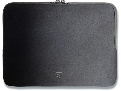 Sleeve, 17-18'' Laptops Notebooks, Neoprene, Sort, Tucano Colore Second Skin