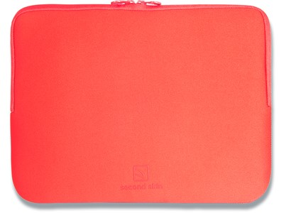 Sleeve, 13-14'' Laptops Notebooks, Neoprene, Rød, Tucano Colore Second Skin