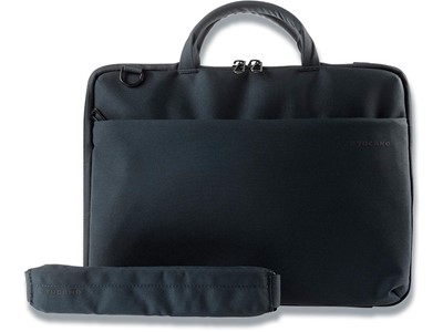 Computertaske, Flere lommer, 1 rum, 14'' Laptops Notebooks, Tucano Slim Bag Darkolor